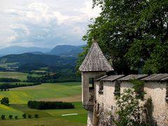 Blick von der Burg Hochosterwitz