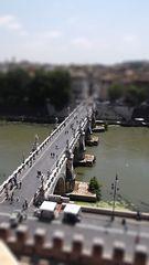 Blick von der Engelsburg richtung Engelsbrücke