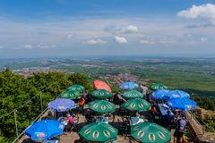 Blick von der Höhengaststätte Riethburg