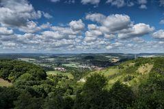 Blick von der Leuchtenburg
