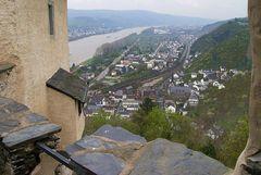 Blick von der Marksburg / Rhein