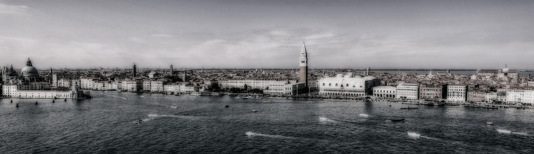 Blick von der San Giorgio Maggiore-Kirche