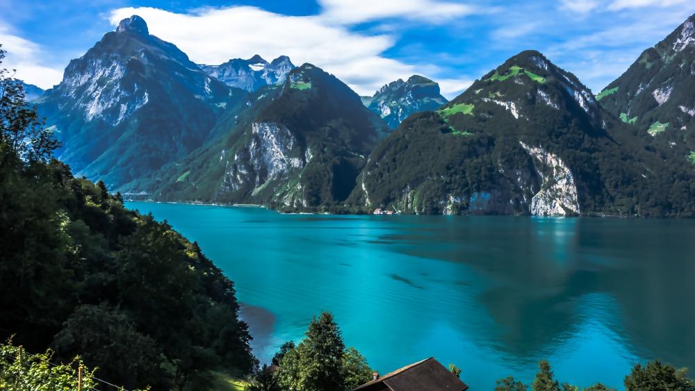 Blick von der Tellsplatte, Schweiz