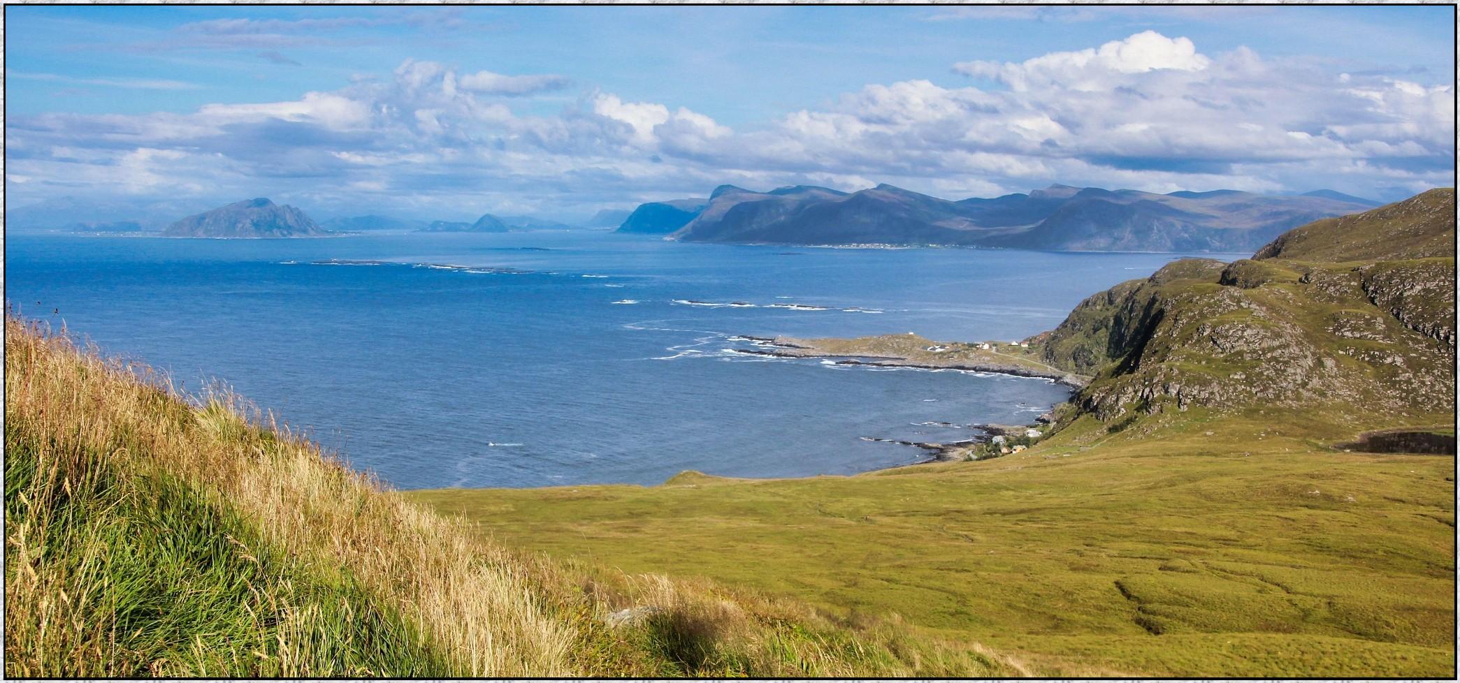 Blick von der Vogel-Insel Runde   (Norwegen)