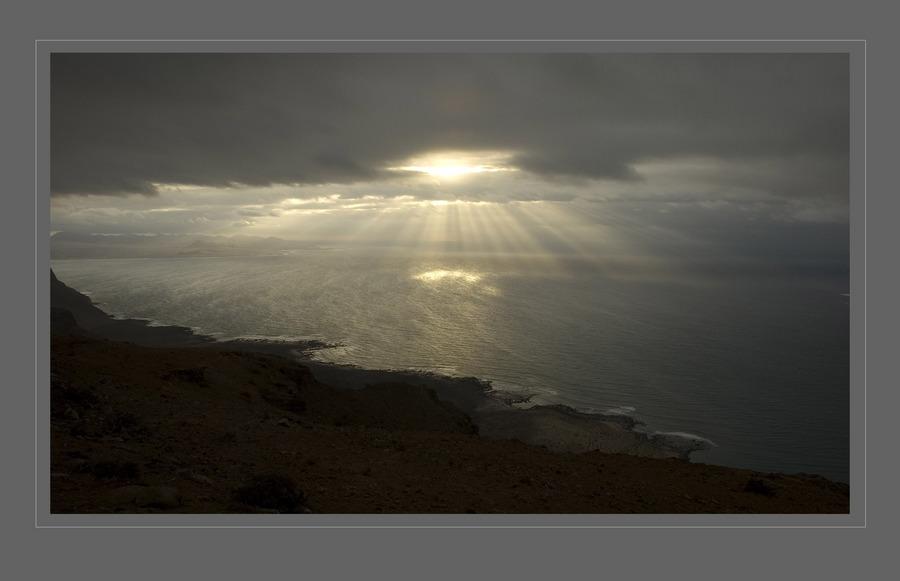 Blick von El Risco/Lanzarote
