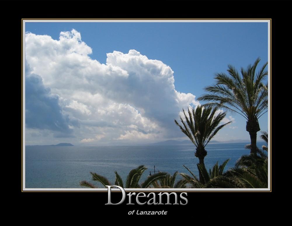 Blick von Lanzarote (Playa Blanca - Punta Limones - Hotel Lanzarote Park) nach Fuerteventura