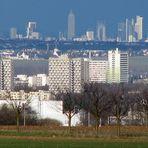 Blick von Mainz auf Frankfurt