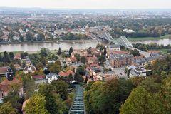 Blick von Oberloschwitz auf das Dresdner Elbtal