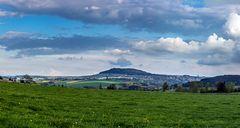 Blick von Schönfeld auf Annaberg