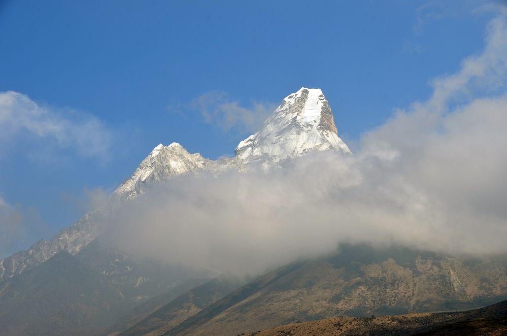 Blick von Tengpoche zum Ama Dablam