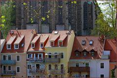 Blick von Zgorzelec nach Görlitz