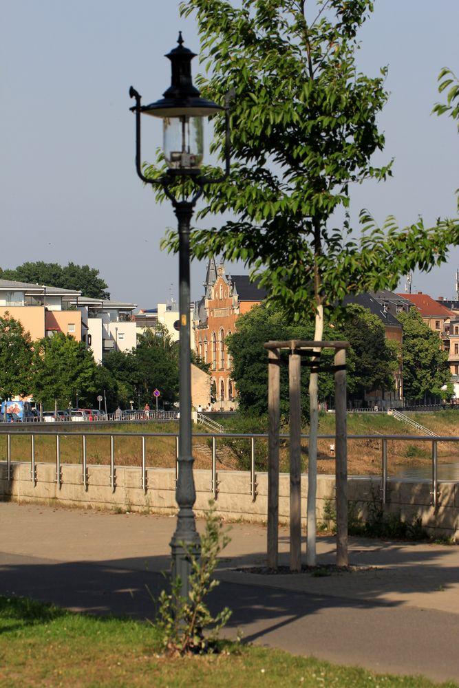 Blick zum Ball- und Brauhaus Watzke