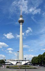 Blick zum Berliner Fernsehturm