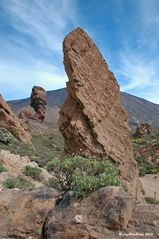 Blick zum Chinchado (Wahrzeichen des Nationalparks Teide)