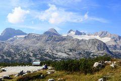 Blick zum Dachstein-Gletscher