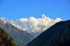 Blick zum Ganesh Himal