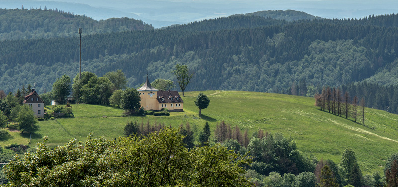 Blick zum Glockenberg