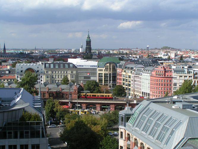 Blick zum Hackeschen Markt in Berlin