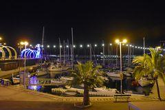 Blick zum Hafen von Funchal auf Madeira