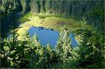 Blick zum Huzenbacher See