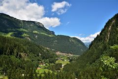 Blick zum Penken in Tirol