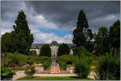 Blick zum Schloss Wesserling
