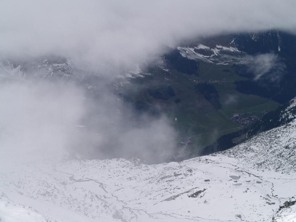 Blick zum Tal
