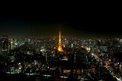 Blick zum Tokio Tower
