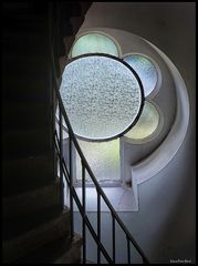 Blick zum Turmfenster