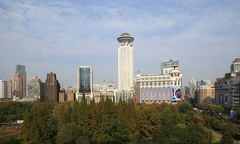 Blick zur Beijing West Road