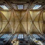 Blick zur Decke des Dom zu Halberstadt