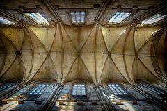 Blick zur Decke, im Dom zu Halberstadt