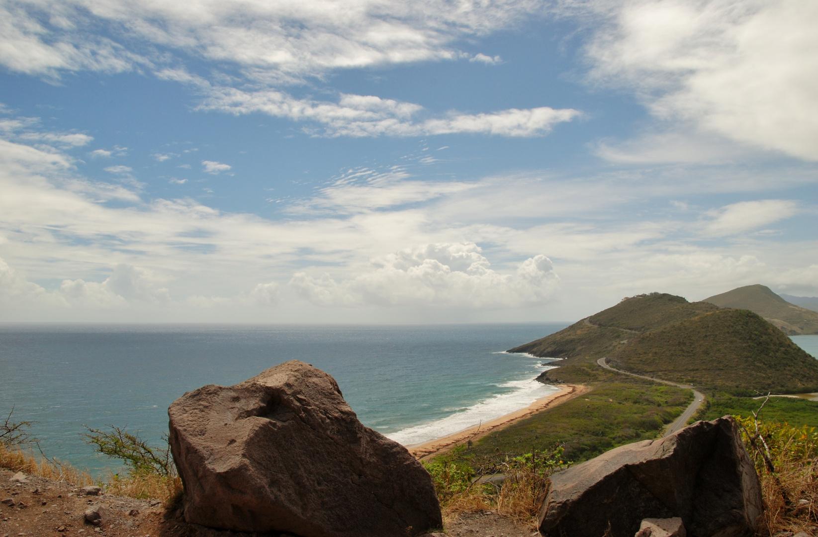 Blick zur Frigate Bay