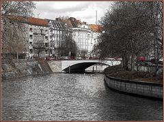 Blick zur Kottbusser Brücke