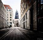 Blick zur Kreuzkirche
