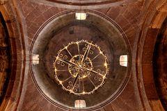 Blick zur Kuppel