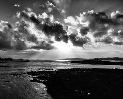 Blick zur Île de Batz