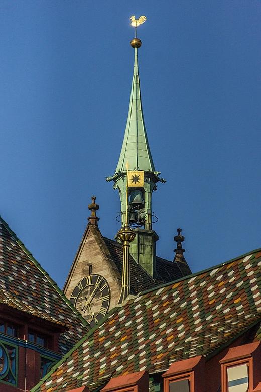 Blick zur Martinskirche