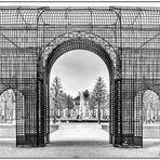Blicke durch Gitter