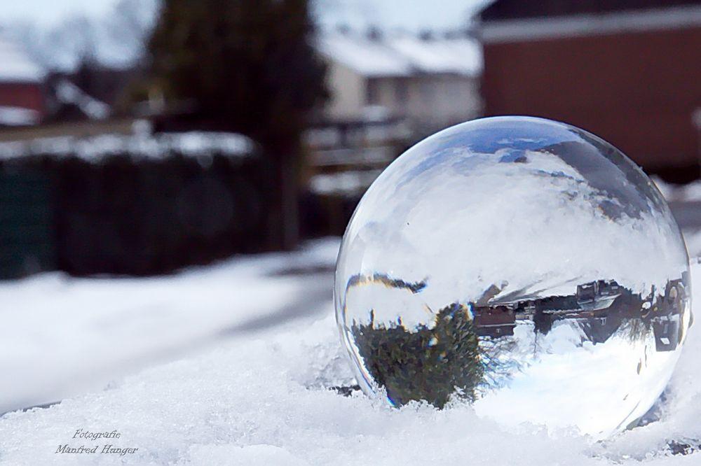 Blicke in die Glaskugel - Wann kommt der Fühling?