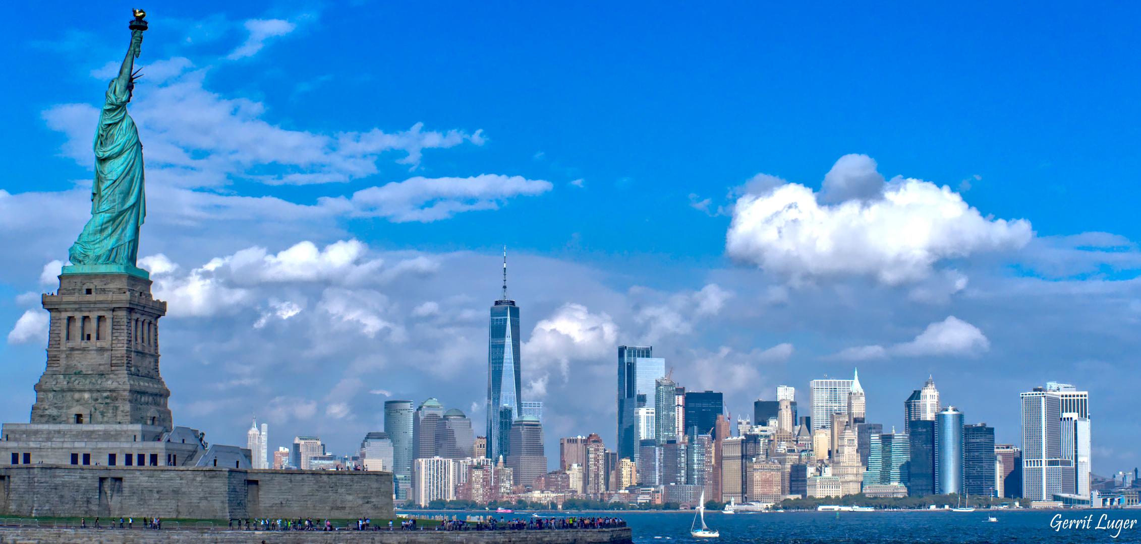 Blickrichtung Manhattan