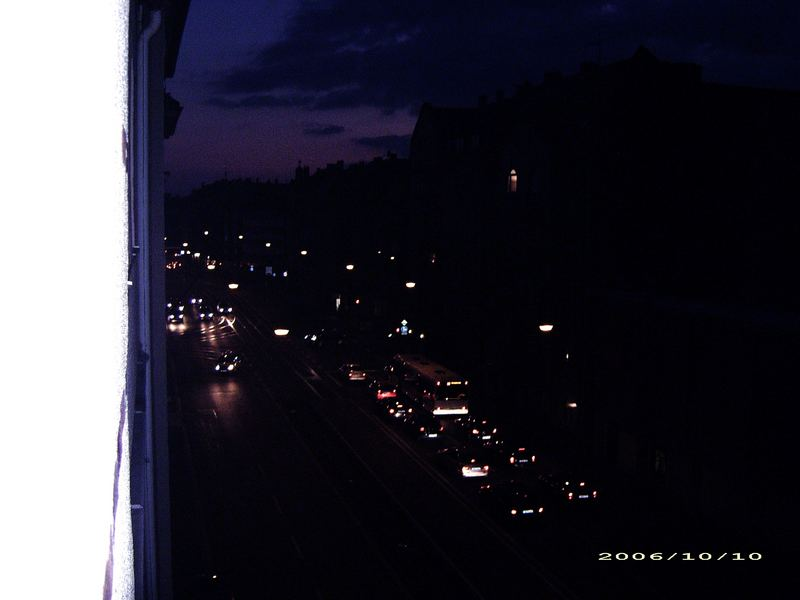 Blickwinkel bei Nacht