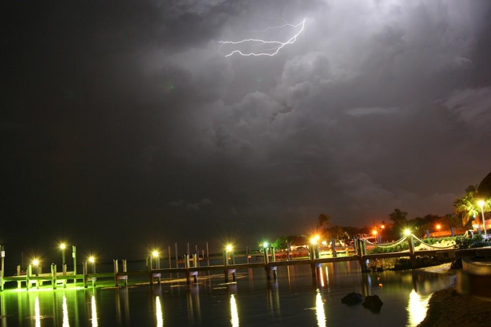 Blitz im Gewitter in Florida
