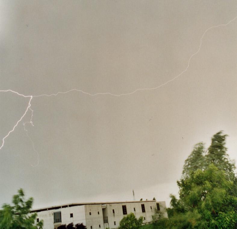 Blitz in meinem Himmel