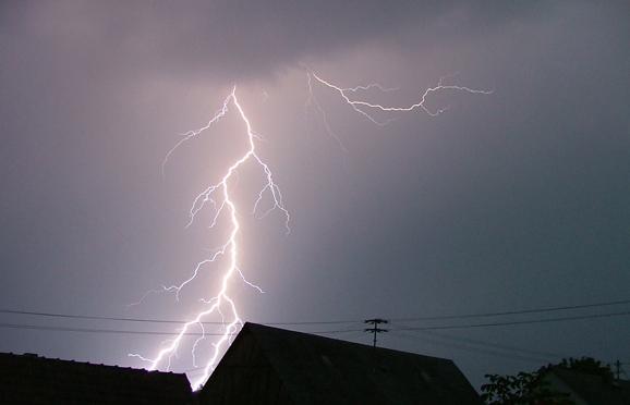 Blitz über Herold