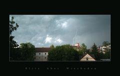 Blitz über Wiesbaden