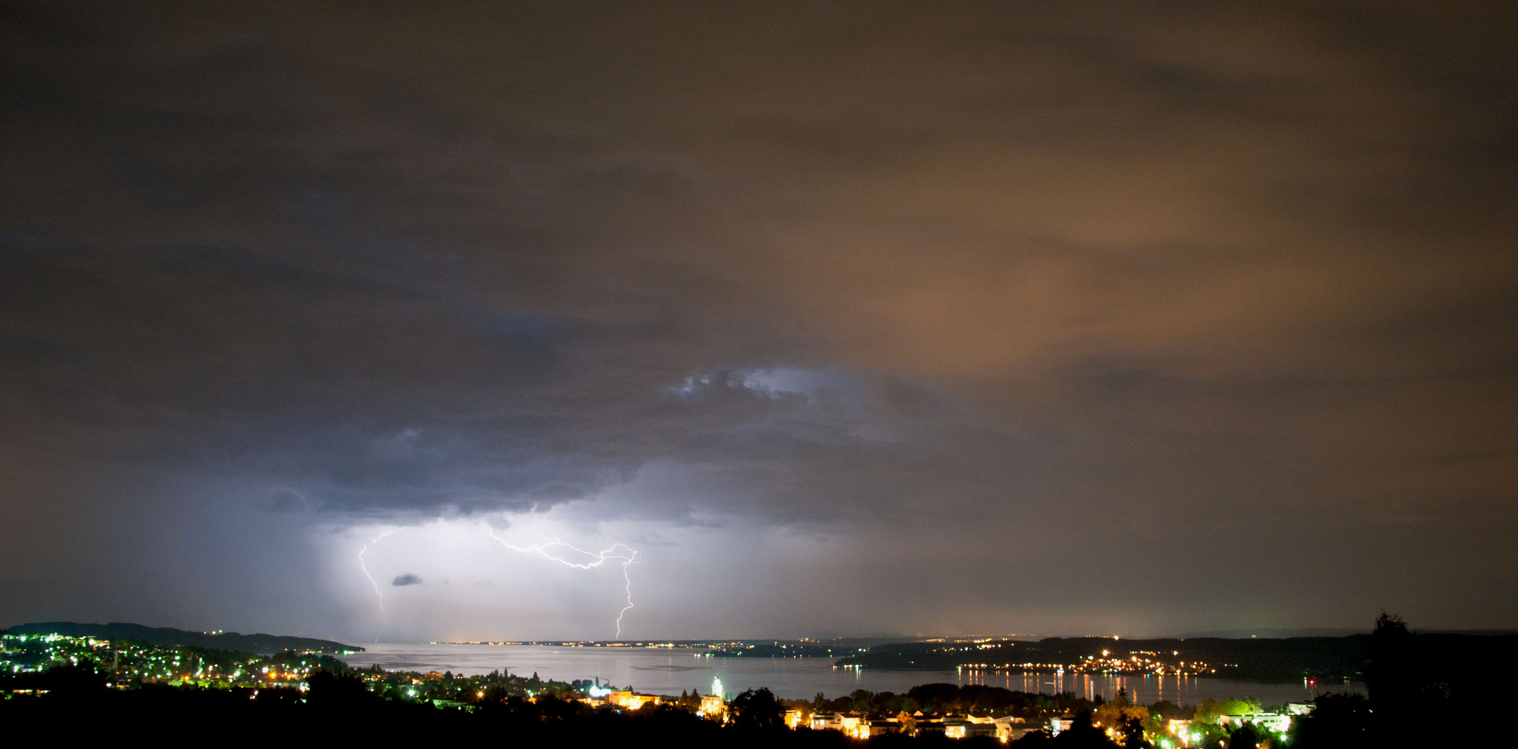 Blitze am Bodensee