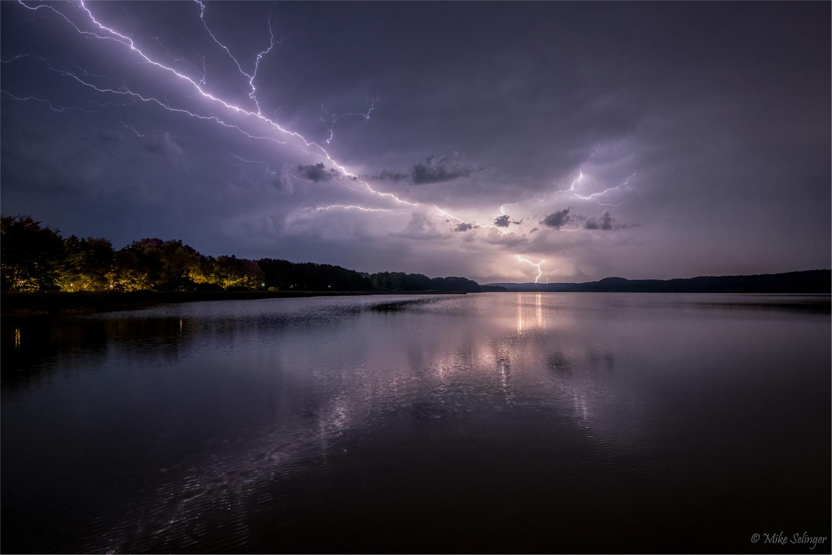Blitze übern Schmachter See