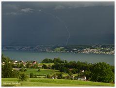 Blitzeinschlag in Wädenswil