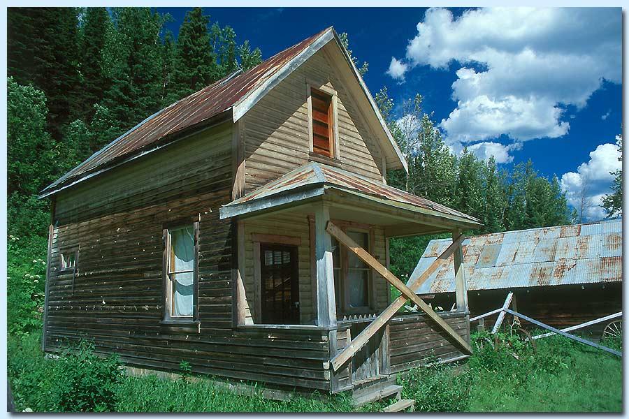 Blockhaus in Barkerville